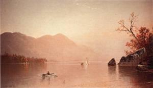 Autumn Mist, Lake George, New York 1871 Alfred Thompson Bricher