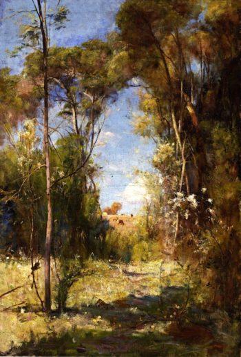 Pastoral | Sir Arthur Streeton | oil painting