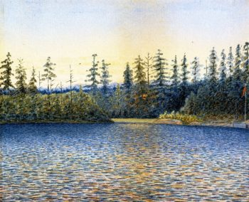 Calm Waters near the Camp | William George Richardson Hind | oil painting