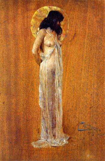 Scheherazade | Sir Arthur Streeton | oil painting