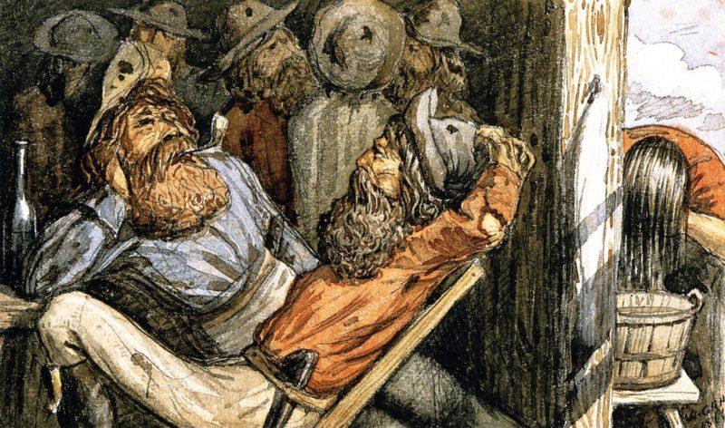British Columbia Miners | William George Richardson Hind | oil painting