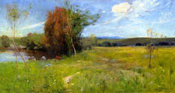 Spring | Sir Arthur Streeton | oil painting