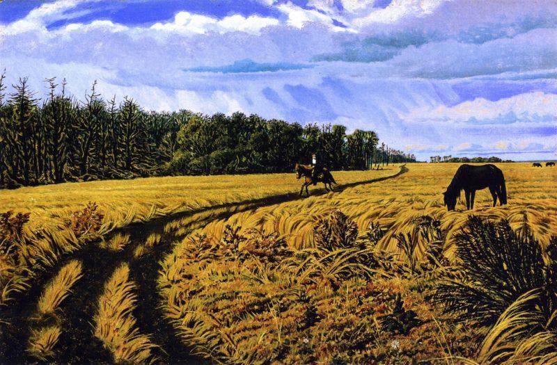 A Prairie Road | William George Richardson Hind | oil painting