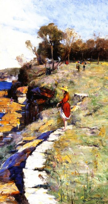 Sunlight Sweet Coogee | Sir Arthur Streeton | oil painting