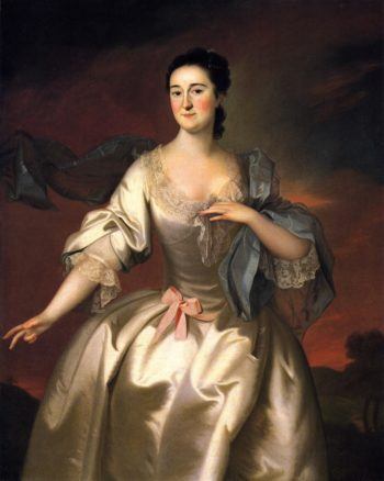 Mrs James Pitts | Joseph Blackburn | oil painting