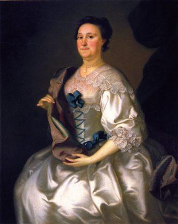 Mrs Gillam Phillips | Joseph Blackburn | oil painting