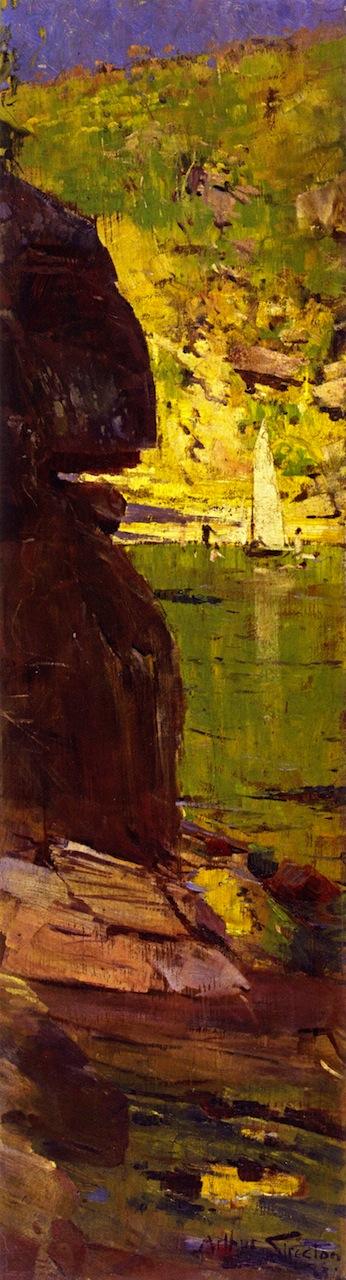 Sydney Harbour   Sir Arthur Streeton   oil painting