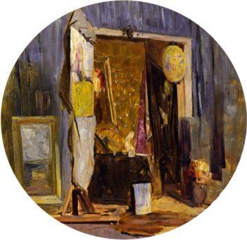 Tambourine   Sir Arthur Streeton   oil painting