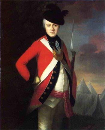 Lt Colonel Thomas Dowdeswell | Joseph Blackburn | oil painting