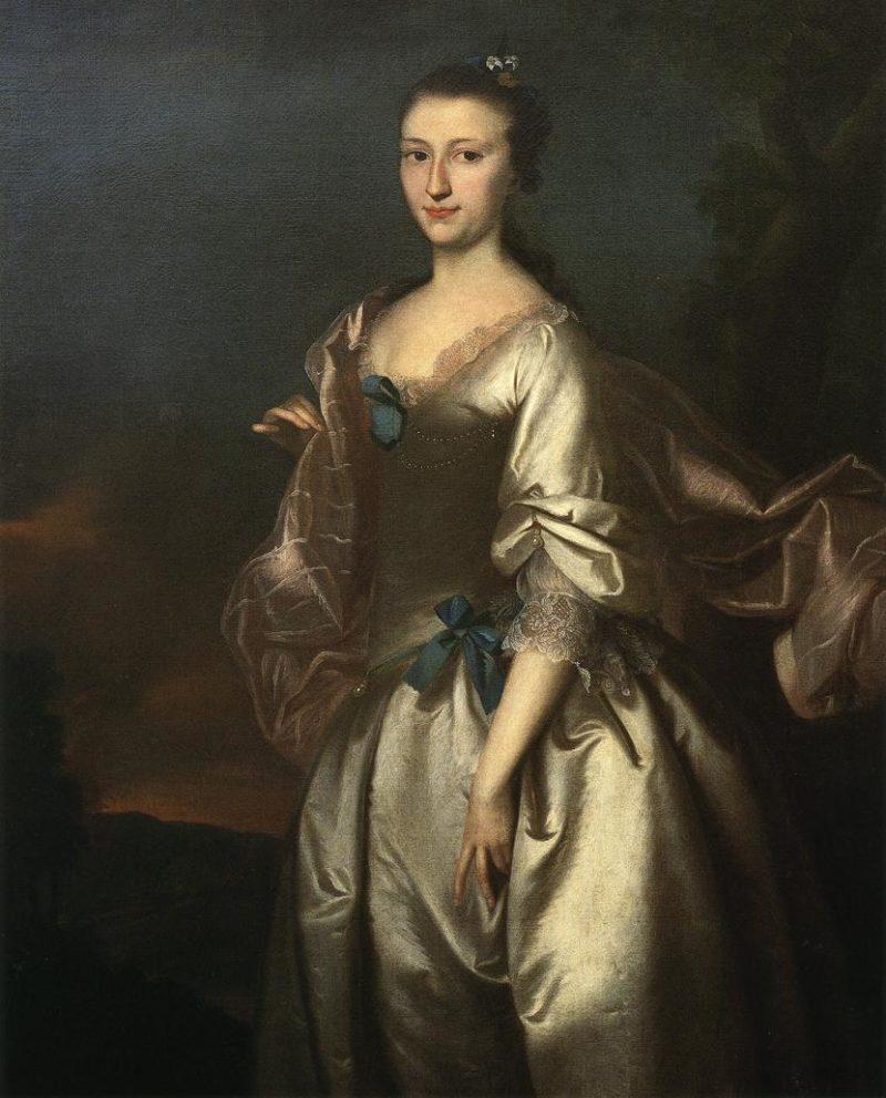 Elizabeth Browne Rogers | Joseph Blackburn | oil painting