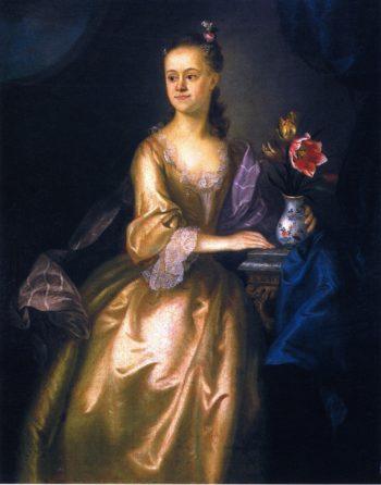 Ann Phillips | Joseph Blackburn | oil painting