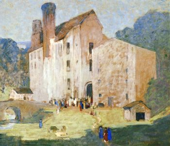 Valley Mills | Robert Spencer | oil painting