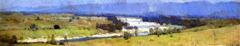 The Hawkesbury River | Sir Arthur Streeton | oil painting