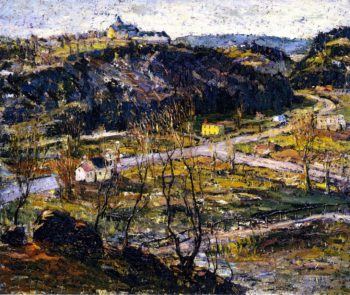 Dunwoodie Upper New York | Ernest Lawson | oil painting