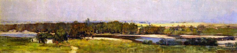 The Upper Hawkesbury | Sir Arthur Streeton | oil painting