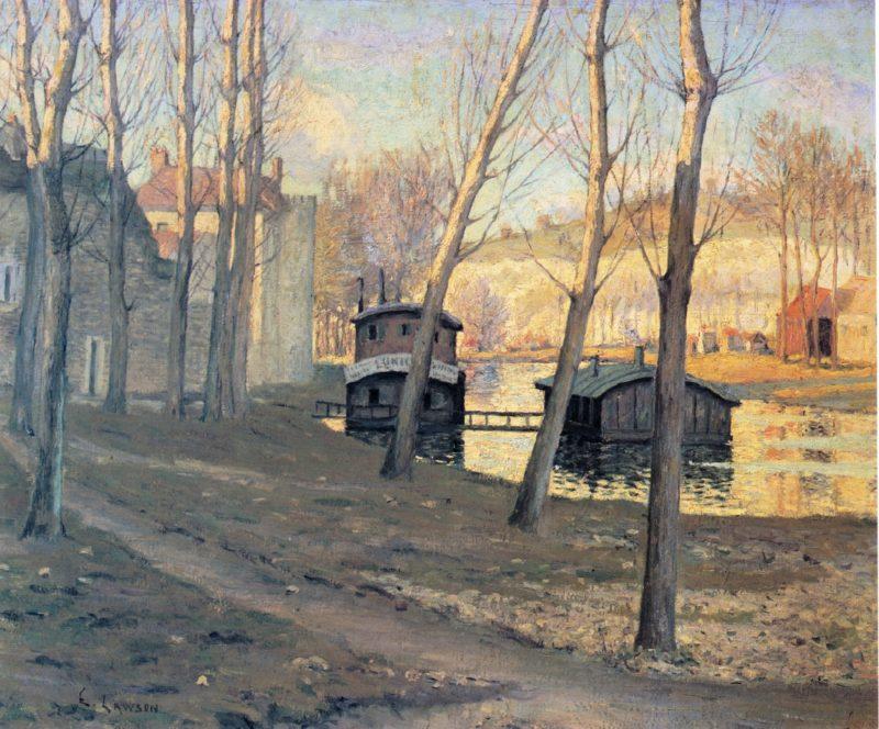 Moret sur Loing | Ernest Lawson | oil painting