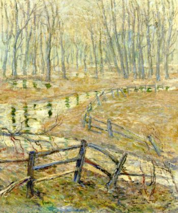 Landscape with Stream | Ernest Lawson | oil painting