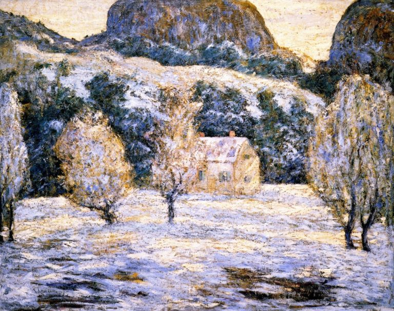 Winter Landscape | Ernest Lawson | oil painting