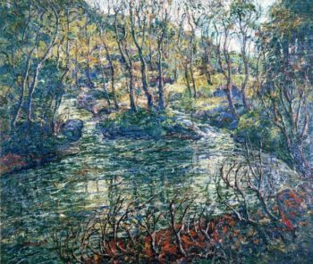 Connecticut Trout Stream | Ernest Lawson | oil painting
