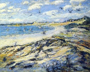 Cape Code Beach | Ernest Lawson | oil painting