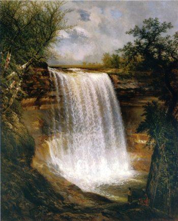 Minnehaha | Gilbert Munger | oil painting