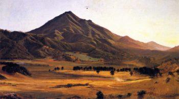 Mount Tamalpais from San Rafael 1 | Gilbert Munger | oil painting