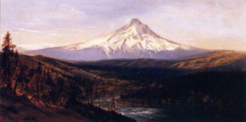 Mount Hood from Hood River | Gilbert Munger | oil painting