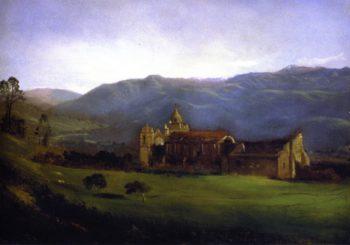 Mission San Carlos Borromeo de Carmelo | Gilbert Munger | oil painting