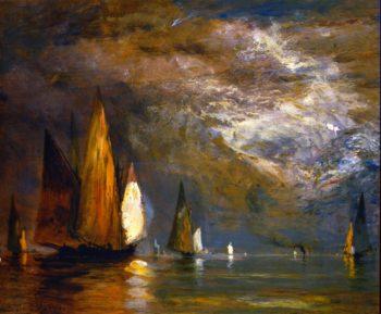 Marine Venice | Gilbert Munger | oil painting
