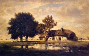 Landscape with Cottage | Gilbert Munger | oil painting