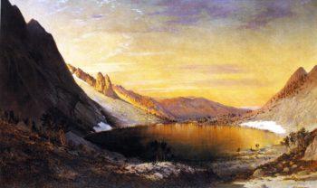 Lake Marian Humbolt Range Nevada | Gilbert Munger | oil painting