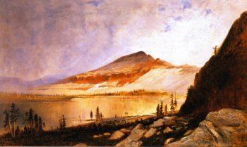 Lake Lall and Mount Agassiz Uinta Range Utah 1 | Gilbert Munger | oil painting