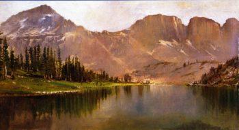 Lake Lall and Mount Agassiz Uinta Range Utah | Gilbert Munger | oil painting