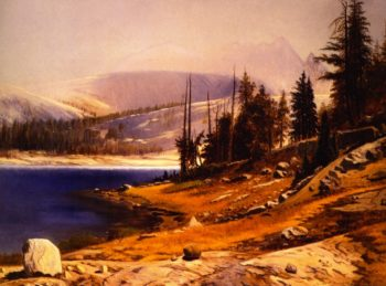 Glacier Lake Kings Canyon California | Gilbert Munger | oil painting