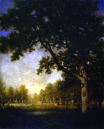 French Forest Scene | Gilbert Munger | oil painting