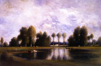 Forest of Fontainebleau 1 | Gilbert Munger | oil painting