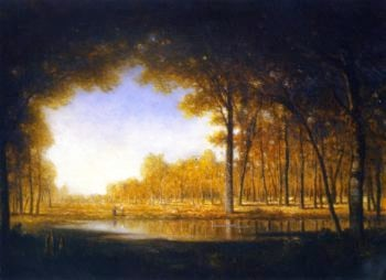 Forest of Fontainebleau | Gilbert Munger | oil painting
