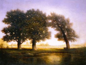 Fontainebleau | Gilbert Munger | oil painting