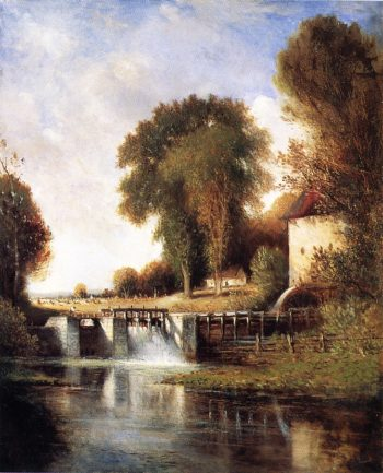 Cazenovia Old Mill | Gilbert Munger | oil painting