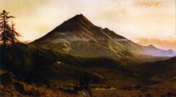 Mount Tamalpais from San Rafael | Gilbert Munger | oil painting