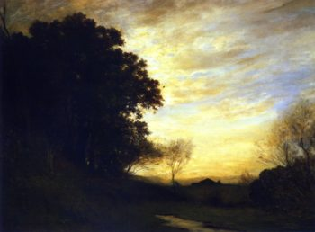 Barbizon Landscape | Gilbert Munger | oil painting