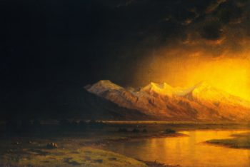 After the Storm Utah | Gilbert Munger | oil painting