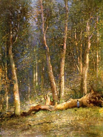 Forest of Fontainebleau | John Ferguson Weir | oil painting