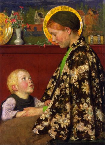 Young Mother 2 | Gari Melchers | oil painting