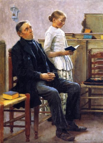 Vespers | Gari Melchers | oil painting