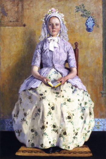 The Communicant | Gari Melchers | oil painting