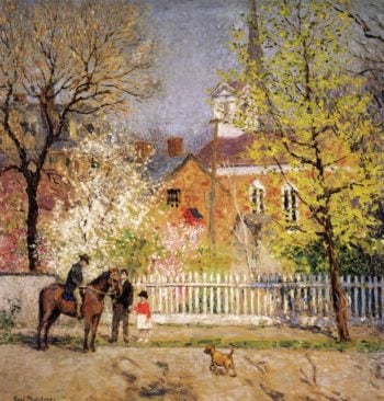 St George's Church | Gari Melchers | oil painting