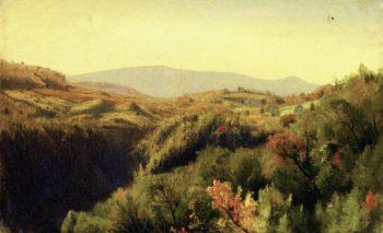 Kauterseill Clove | Jervis McEntee | oil painting