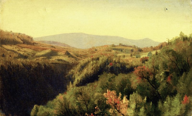 auterseill Clove | Jervis McEntee | oil painting