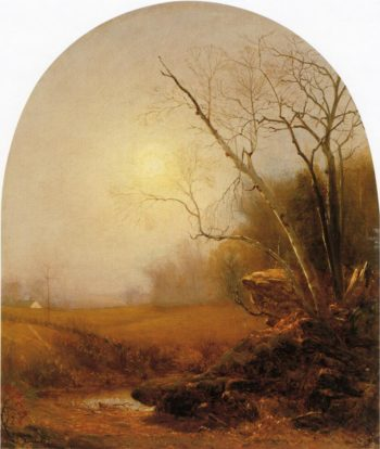 Indian Summer | Jervis McEntee | oil painting